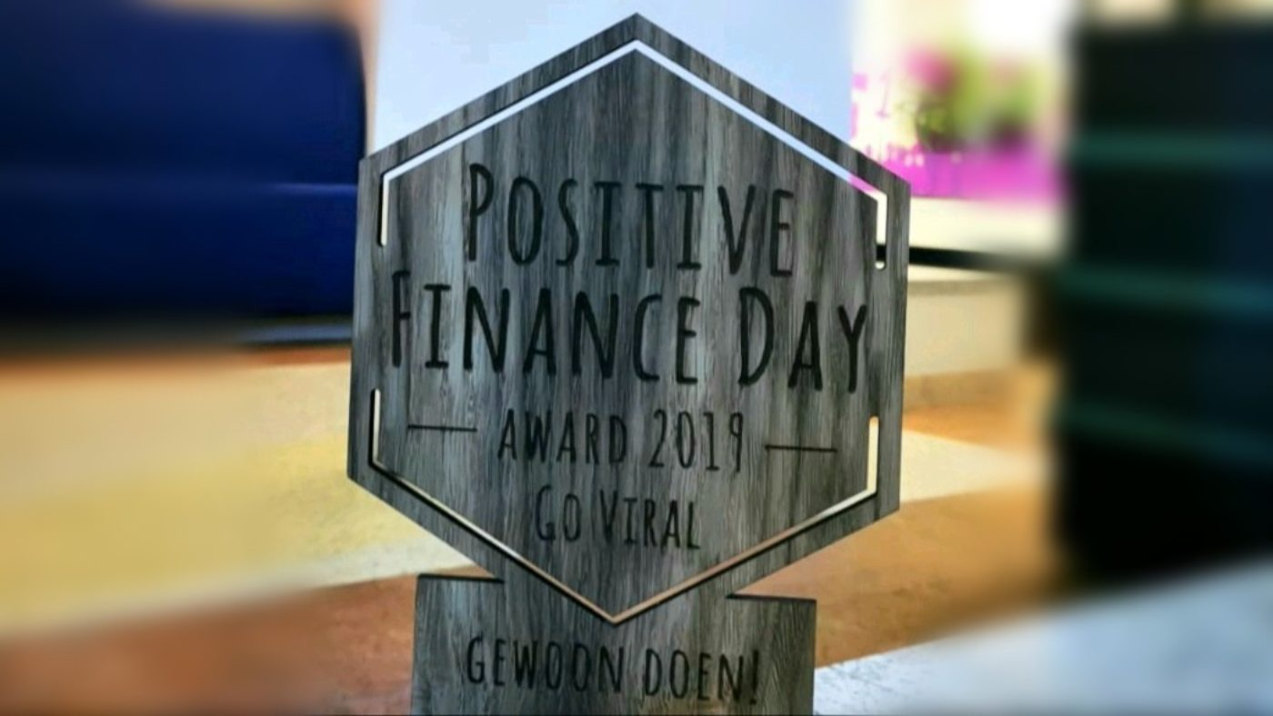 Positive Finance Award BLG Wonen