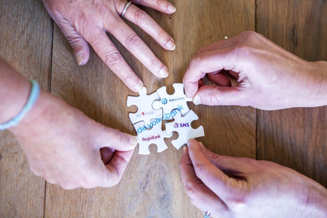 Onze bankmerken vier bankmerken een belofte min
