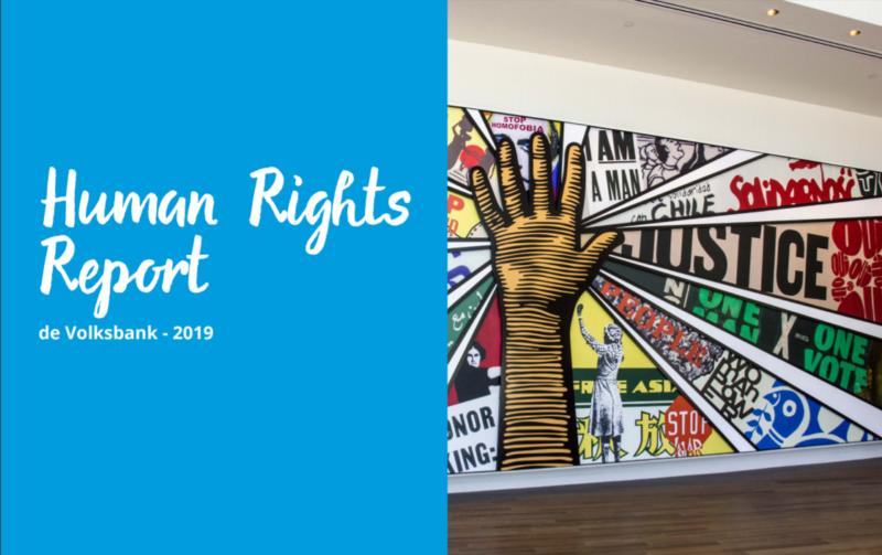 Mensenrechtenverslag de Volksbank
