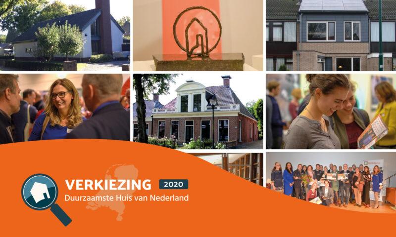 Verkiezing duurzaamste huis website